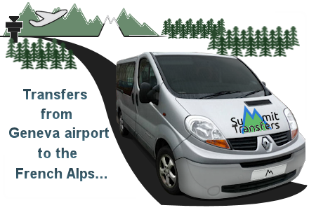 Transfers to the French alps